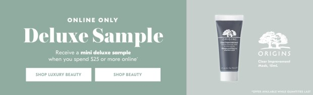 Shoppers Drug Mart SDM Beauty Boutique Canada 2019 Canadian Freebies Deals GWP Free Origins Clear Improvement Active Charcoal Mask Skincare Skin Care Mini Deluxe Sample - Glossense