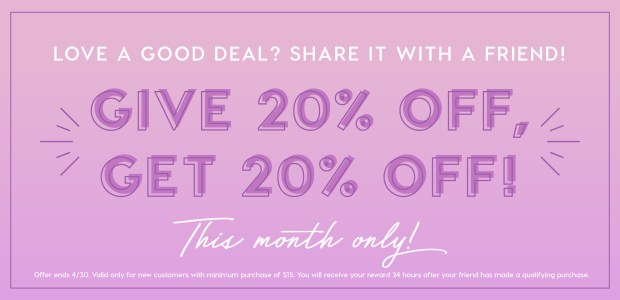 ColourPop Cosmetics Canada Canadian Referral Deals Savings Discount Share with a Friend April 2019 - Glossense