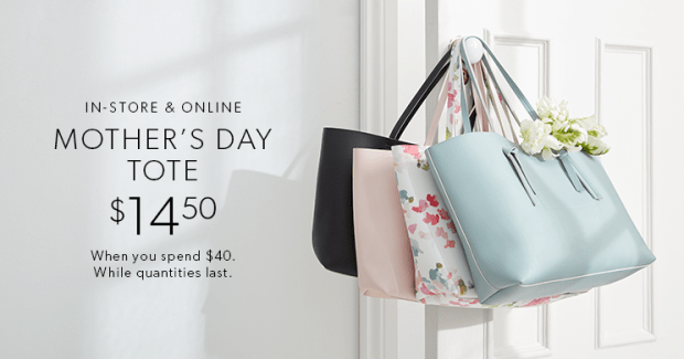 Indigo Chapters Canada Canadian Deals Shop Beauty Get Mother's Day Tote on Sale April May 2019 - Glossense