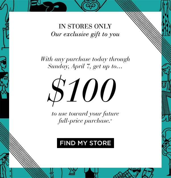 Saks Fifth Avenue Canadian Canadian Deals Beauty Bonus Shop In-store and Get Free Money Towards Next Purchase Spring Bonus April 2019 - Glossense