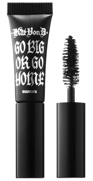 Sephora Canada Canadian Coupon Code Promo Codes Beauty Offer Free Kat Von D Go Big or Go Home Vegan Mascara Mini Deluxe Trial Sample GWP Gift with Purchase - Glossense