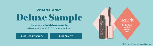 Shoppers Drug Mart SDM Beauty Boutique Canada 2019 Canadian Freebies Deals GWP Free Benefit Cosmetics Roller Lash Curling Mascara Makeup Mini Deluxe Sample - Glossense