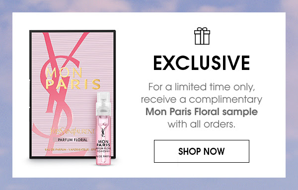 Yves Saint Laurent YSL Beauty Canada Canadian Free Samples Freebies Free Mon Paris Floral Perfume Parfum Fragrance Sample with Any Purchase - Glossense