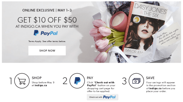 21596473a46d Indigo Chapters Canada Online Exclusive Canadian Shop Beauty PayPal Deal  Savings Discount - Glossense