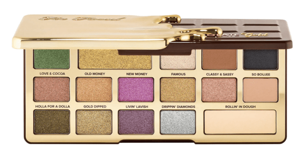 Sephora Canada Hot Summer 2019 Canadian Sale Save 50 Percent on Too Faced Chocolate Gold Eyeshadow Palette May 2019 - Glossense