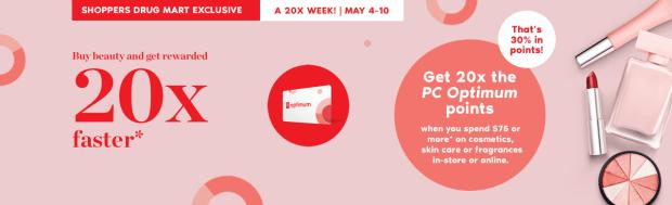 Shoppers Drug Mart Canada SDM Canadian Beauty Boutique PC Optimum Offer Bonus Beauty Get Rewarded Free PC Points May 2019 - Glossense