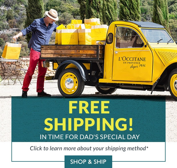 L'Occitane en Provence Canada Free Shipping for Father's Day Free Men's Grooming Gift with Purchase 2019 Canadian Deals GWP Promo Codes - Glossense