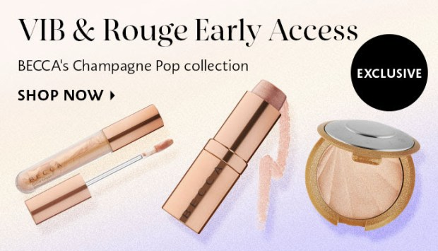 SEPHORA CANADA: Becca Cosmetics' Champagne Pop Limited ...