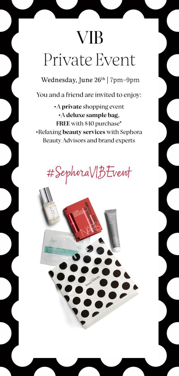 Sephora Canada Canadian Exclusive VIB Member June Private Event Beauty Insider Event Summer June 26 2019 Free Samples Free Gift Bag - Glossense