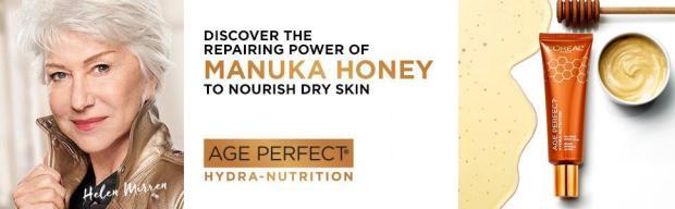 Canadian Freebies FreeL'Oreal Canada Age Perfect Honey Balm Sample - Glossense