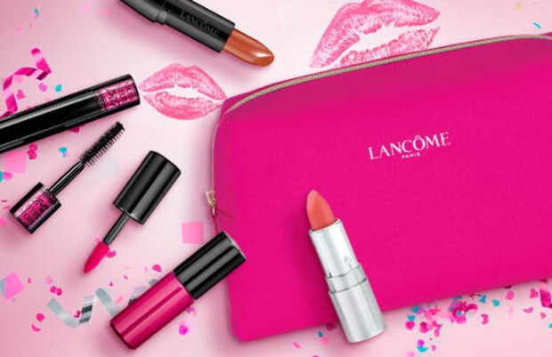 Lancome Canada Free 5-pc National Lipstick Day Gift Set with Purchase 2019 Canadian Deals GWP Beauty Offer Promo Code July 2019 - Glossense