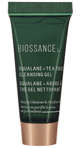 Sephora Canada Canadian Coupon Code Promo Codes Beauty Offer Free Biossance Squalane Tea Tree Cleansing Gel Mini Deluxe Trial Sample GWP Gift with Purchase - Glossense