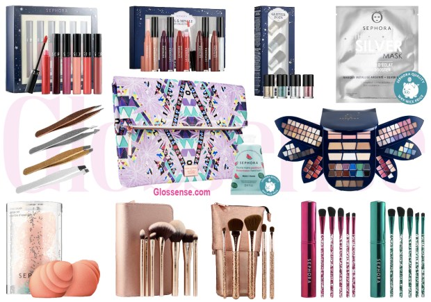 Sephora Canada Hot Summer Labour Day Labor Day 2019 Canadian Sale Save on Sephora Collection Brushes Glitter Eyeshadow Palette Palettes Makeup August September 2 2019 Sale - Glossense
