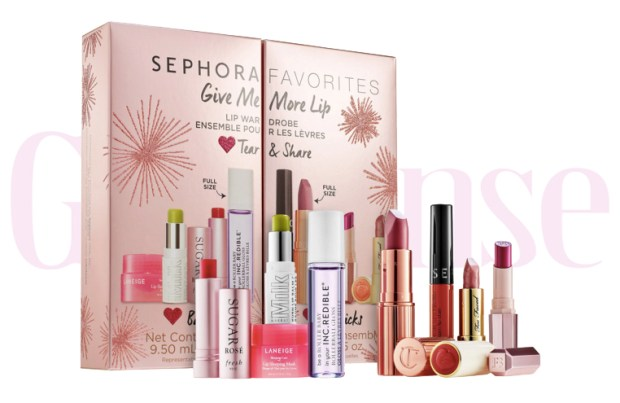 Sephora Canada Favorites Set Kit Canadian Favourites Favorite Favourites Give Me More Lip Lipstick Wardrobe Makeup Collection Kit Set Beauty September Fall 2019 - Glossense