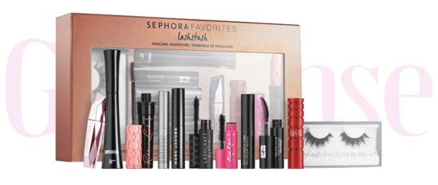 Sephora Canada Favorites Set Kit Canadian Favourites Favorite Favourites Lashstash Mascara Wardrobe Collection Kit Set Beauty September Fall 2019 - Glossense