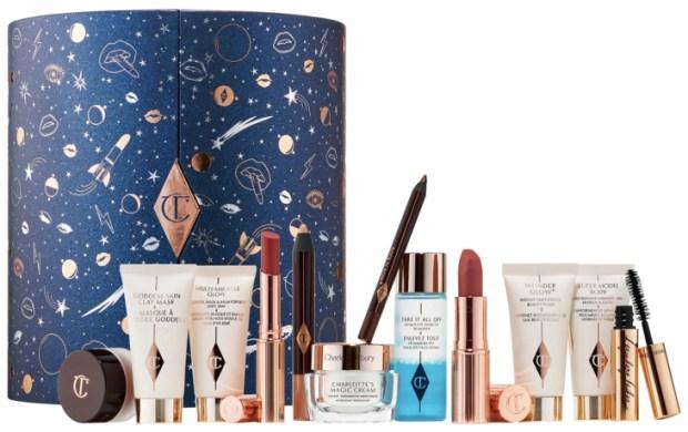 Charlotte Tilbury Canada Glittery Galaxy Of Makeup Magic Magic Moon Advent Calendar 2019 Canadian Christmas Holiday Advent Calendar Vault Contents - Glossense