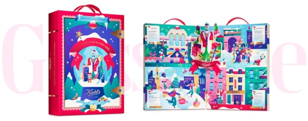 Hudson's Bay Canada The Bay HBC Kiehl's Since 1851 Canadian Christmas Holiday 2019 Skincare Advent Calendar Exclusive - Glossense