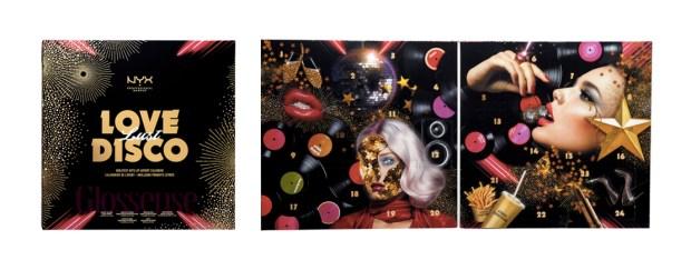 Nyx Professional Makeup Canada Love Lust Disco Greatest Hits Lip 2019 Canadian Christmas Holiday Advent Calendar - Glossense