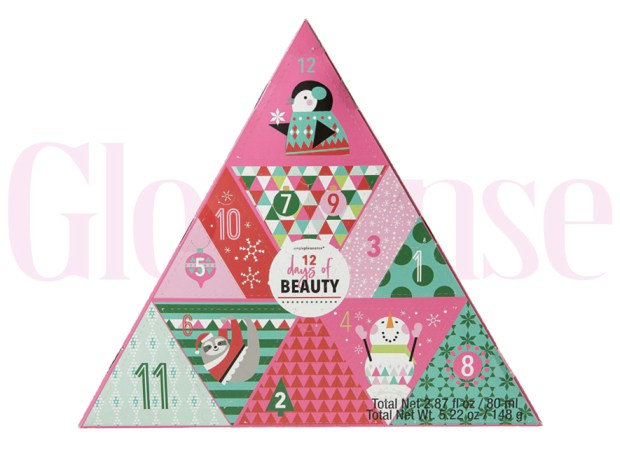 Party City Canada Simple Pleasures 12 Days of Beauty 2019 Canadian Christmas Holiday Advent Calendar - Glossense