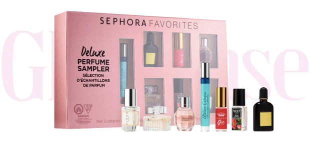 Sephora Canada Favorites Set Kit Canadian Favourites Favorite Favourites Deluxe Perfume Sampler Fragrance Mini Minis Collection Kit Set Beauty October 2019 - Glossense