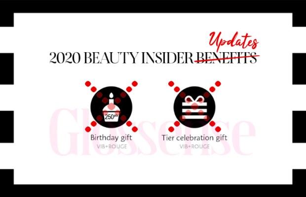 Sephora Canada January 1 2020 Canadian Beauty Insider Program New Benefits Changes Updates Free Rewards BI VIB Rouge Members Tier Gifts Updated - Glossense