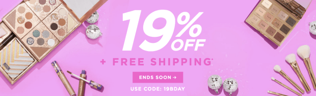 Tarte Cosmetics Canada Birthday Week Fall Sale 2019 HOT Canadian Deals Coupon Code Promo Codes October 2019 Day 7 - Glossense