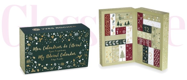 Yves Rocher Canada My Advent Calendar 24 Days 24 Wishes 2019 Canadian Beauty Christmas Holiday Advent Calendar - Glossense