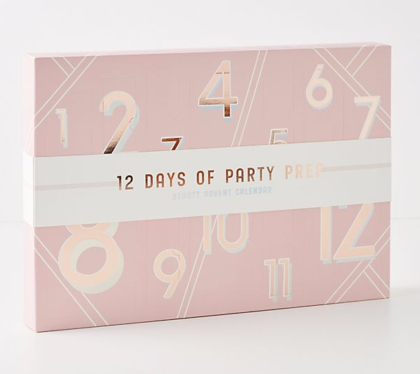 Anthropologie Canada 12 Days of Party Prep 2019 Canadian Christmas Holiday Advent Calendar - Glossense