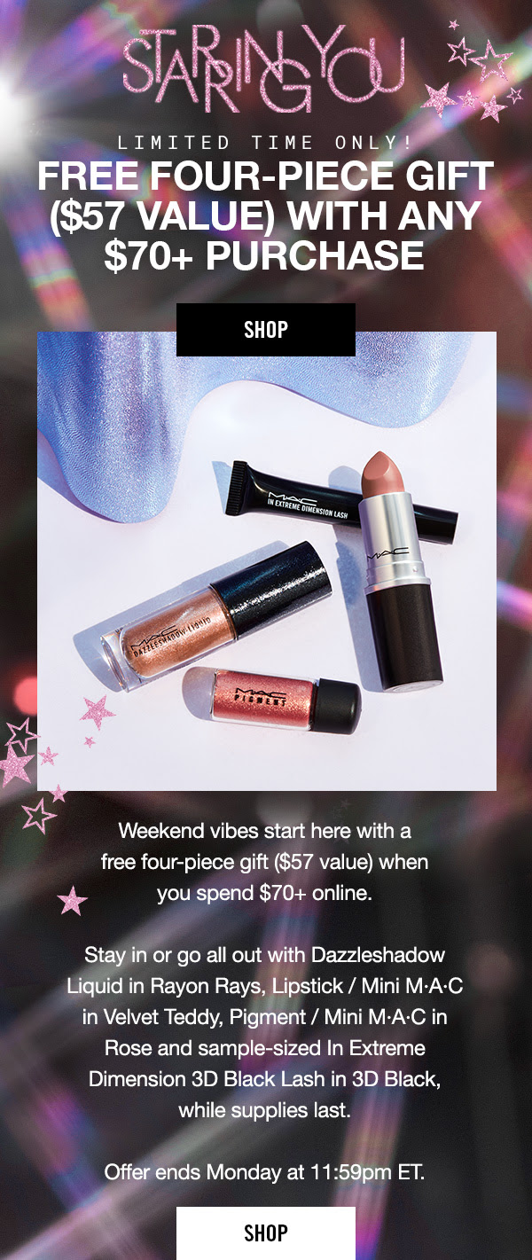 MAC Cosmetics Canada Free Holiday Gift with Purchase Canadian GWP Starring You 2019 - Glossense