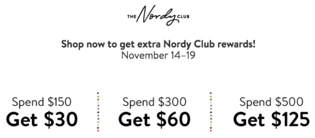 Nordstrom Canada Free Bonus Note Offer for Canadian Nordy Club Members 2 - Glossense