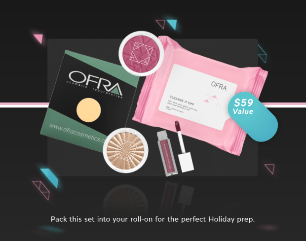 Ofra Cosmetics Canada 2019 Black Friday Canadian Sale Deals Free GWP Go-to Pack - Glossense