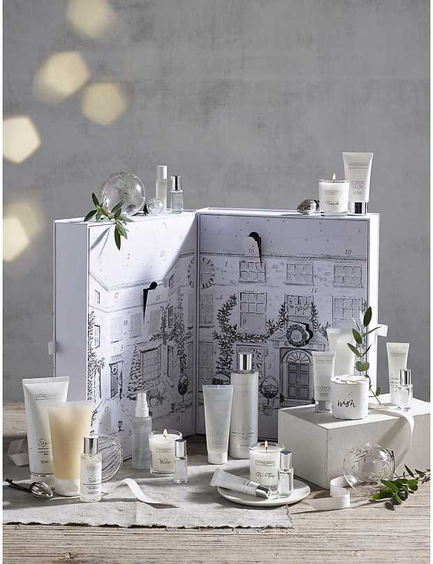 Selfridges Canada The White Company 2019 Canadian Christmas Holiday Advent Calendar Unboxing - Glossense
