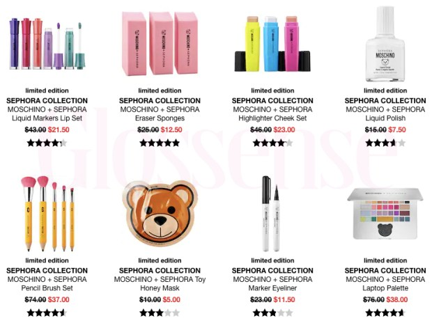 Sephora Canada Cyber Week Hot Fall Winter Holiday 2019 Canadian Sale Save on Sephora Moschino Sets Kits Collection November 2019 Sale Canadian Deals - Glossense