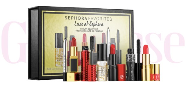 Sephora Canada Favorites Set Kit Canadian Favourites Favorite Favourites Deluxe Luxe at Sephora Luxury Sampler Mini Minis Collection Kit Set Beauty November 2019 - Glossense