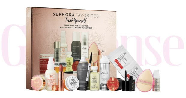 Sephora Canada Favorites Set Kit Canadian Favourites Favorite Favourites Deluxe Treat Yourself Self Care Sampler Mini Minis Collection Kit Set Beauty November 2019 - Glossense