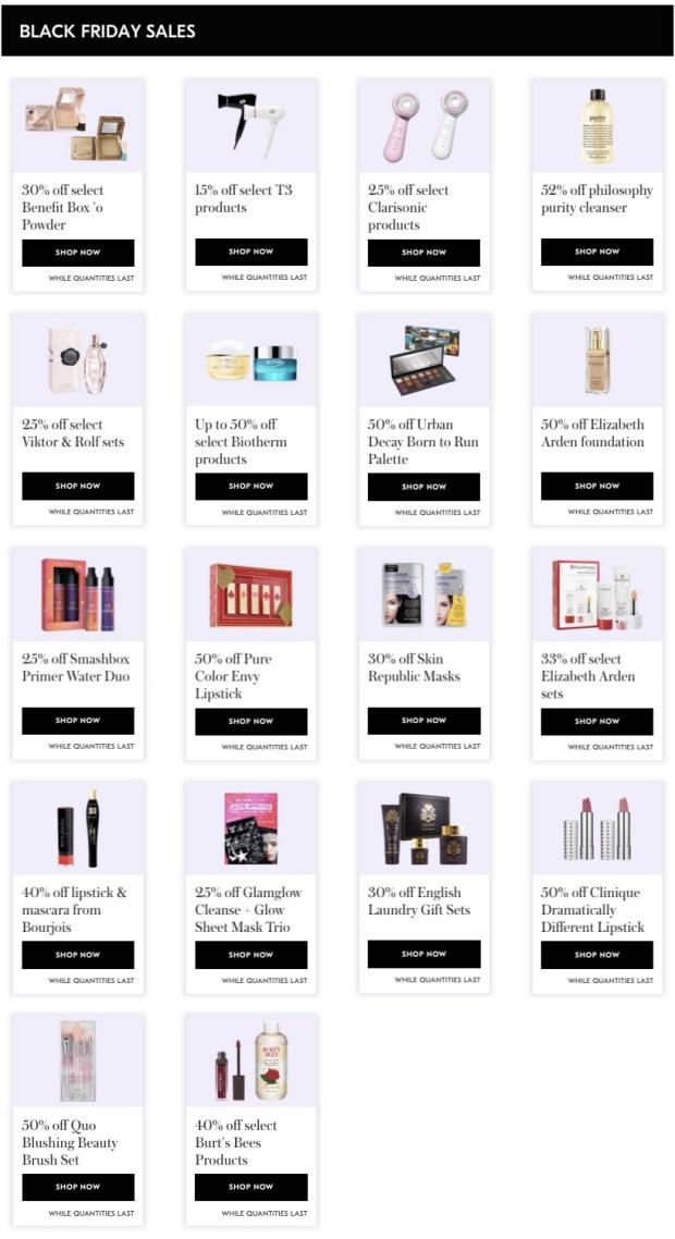 Shoppers Drug Mart Canada SDM Beauty Boutique 2019 Sneak Peek Exclusive Black Friday Sets Sale Deals 2020 3 - Glossense