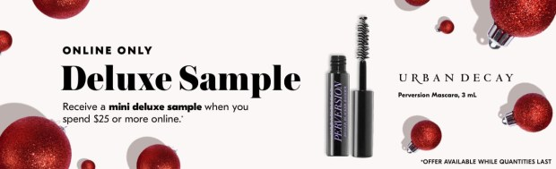 Shoppers Drug Mart SDM Beauty Boutique Canada 2019 Canadian Freebies Deals GWP Free Urban Decay Perversion Mascara Makeup Mini Deluxe Sample - Glossense