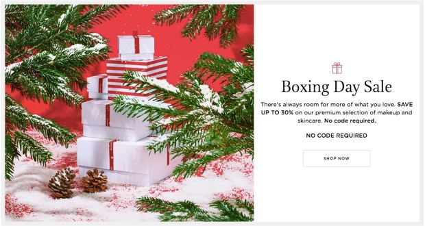 Clarins Canada 2019 Boxing Day Sale Up to 30 Off Free 4-pc Gift Set with Purchase Canadian Deals Promo Code - Glossense