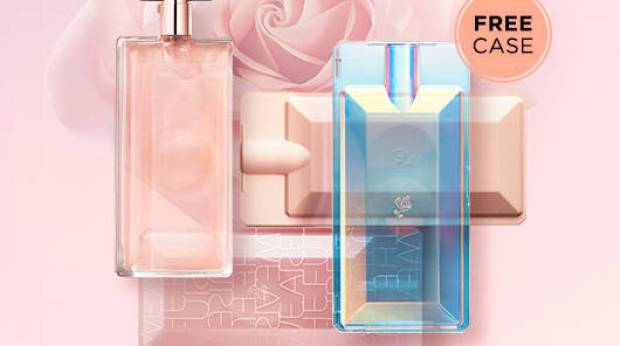 Lancome Canada Free Choice of Idole Case with Fragrance Purchase Canadian GWP Promo Codes - Glossense