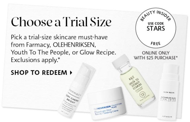 Sephora Canada Canadian Stars Beauty Offers Promo Code Coupon Codes Free Skincare Free Mini Deluxe Samples Farmacy YTLP Olehenriksen Glow Recipe - Glossense