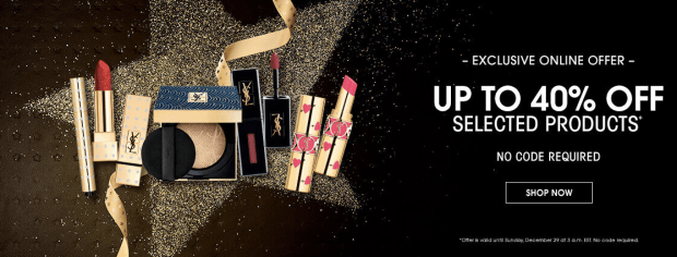 Yves Saint Laurent Canada 2019 Boxing Day Sale 30 to 40 Off Canadian Deals - Glossense