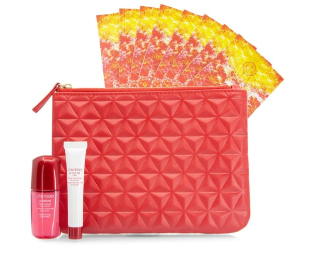 Hudson's Bay Canada GWP Shop Shiseido Receive Free 2020 Lunar New Year Gift Set Chinese New Year Canadian Gift with Purchase Offer - Glossense