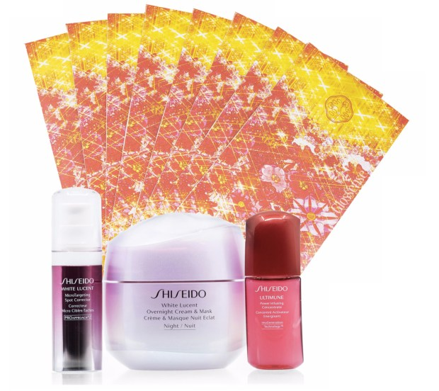 Hudson's Bay Canada Shiseido NEW 2020 Lunar New Year White Lucent 4-Piece Set Chinese New Year Canadian New Release - Glossense