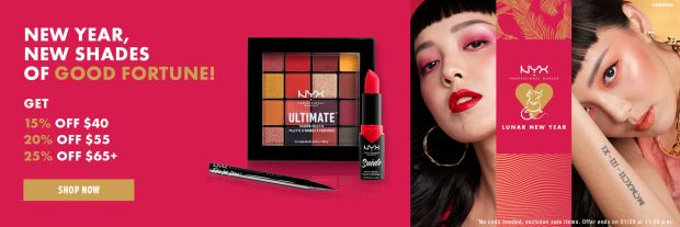Nyx Cosmetics Canada Shop 2020 Lunar New Year Makeup Save 15 25 Off Chinese New Year Canadian New Releases Deals - Glossense