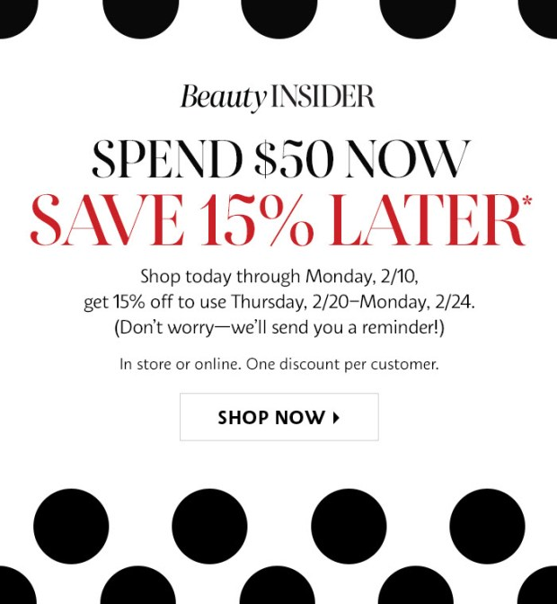 Sephora Canada Shop Now and Save 20 Off Later January February 2020 Canadian Deals - Glossense