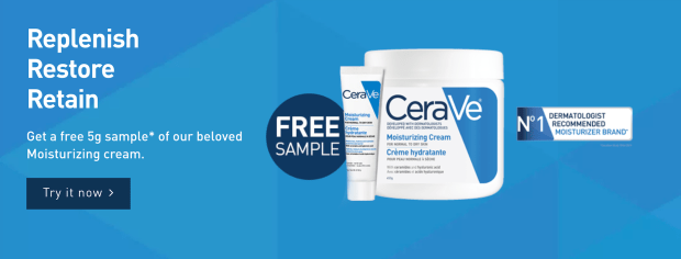 Canadian Freebies Free CeraVe Canada Moisturizing Cream Deluxe Sample - Glossense