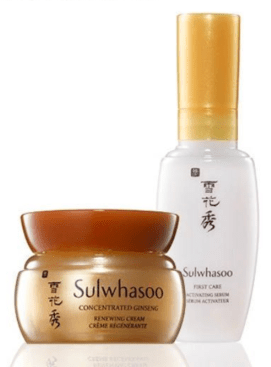 Sephora Canada Promo Code Choose 1 of 2 Free Sulwhasoo Skincare Deluxe Mini Samples with Purchase Canadian GWP Beauty Offer - Glossense
