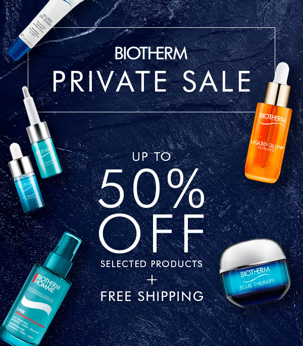 Biotherm Canada Private Sale Spring Sale Up to 50 Off Free Shipping with Any Order Canadian Deals in Response to Coronavirus COVID-19 - Glossense