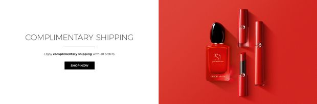 Giorgio Armani Canada Free Shipping with ANY Order Canadian Deals in Response to Coronavirus COVID-19 - Glossense