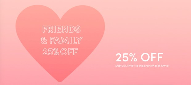 Cover Fx Canada Friends Family Event 25 Off Everything Free Shipping with Any Order Canadian Deals Promo Code - Glossense